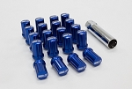 SSR Wheels - GT Forged Lug Nuts - Forged Aluminum - Blue - 12x1.5mm