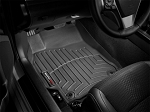 Weathertech - FloorLiner - 2011 GMC Sierra Crew Cab -  Flow-Through Console - Black