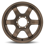 Gram Lights 57DR-X - 17x8.5 -10 6x139.7 - Dark Bronze