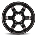 Gram Lights 57DR-X - 17x8.5 -10 6x139.7 - Super Dark Gunmetal