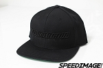Volk Racing - Snap Back Hat Limited Edition - Black with Black Logo