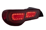 Tom's - LED Red Taillights - Subaru BRZ and Scion FR-S 2013-2014