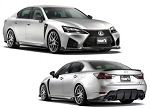 Tom's Racing - Front Aero Kit - Carbon Fiber - Lexus GS-F 2016-2018