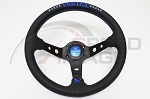 Vertex - 10 Star Edition Steering Wheel - 330mm - Deep Dish - Blue
