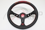 Vertex - 10 Star Edition Steering Wheel - 330mm - Deep Dish - Red