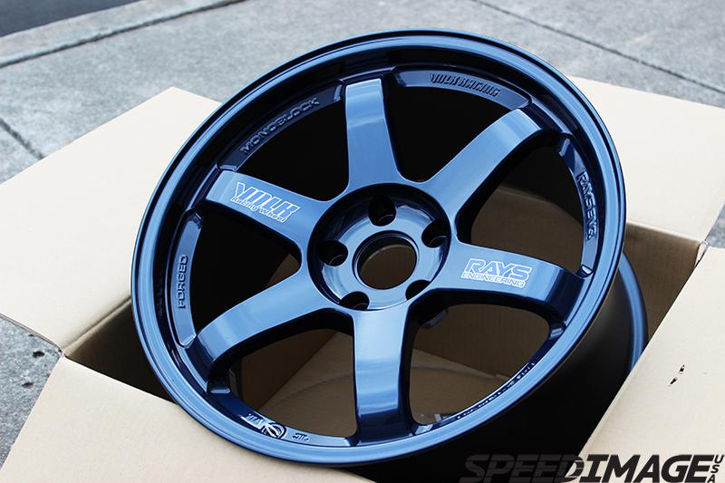 Volk Racing Te37 Og 18x9 5 22 5x100 Mag Blue