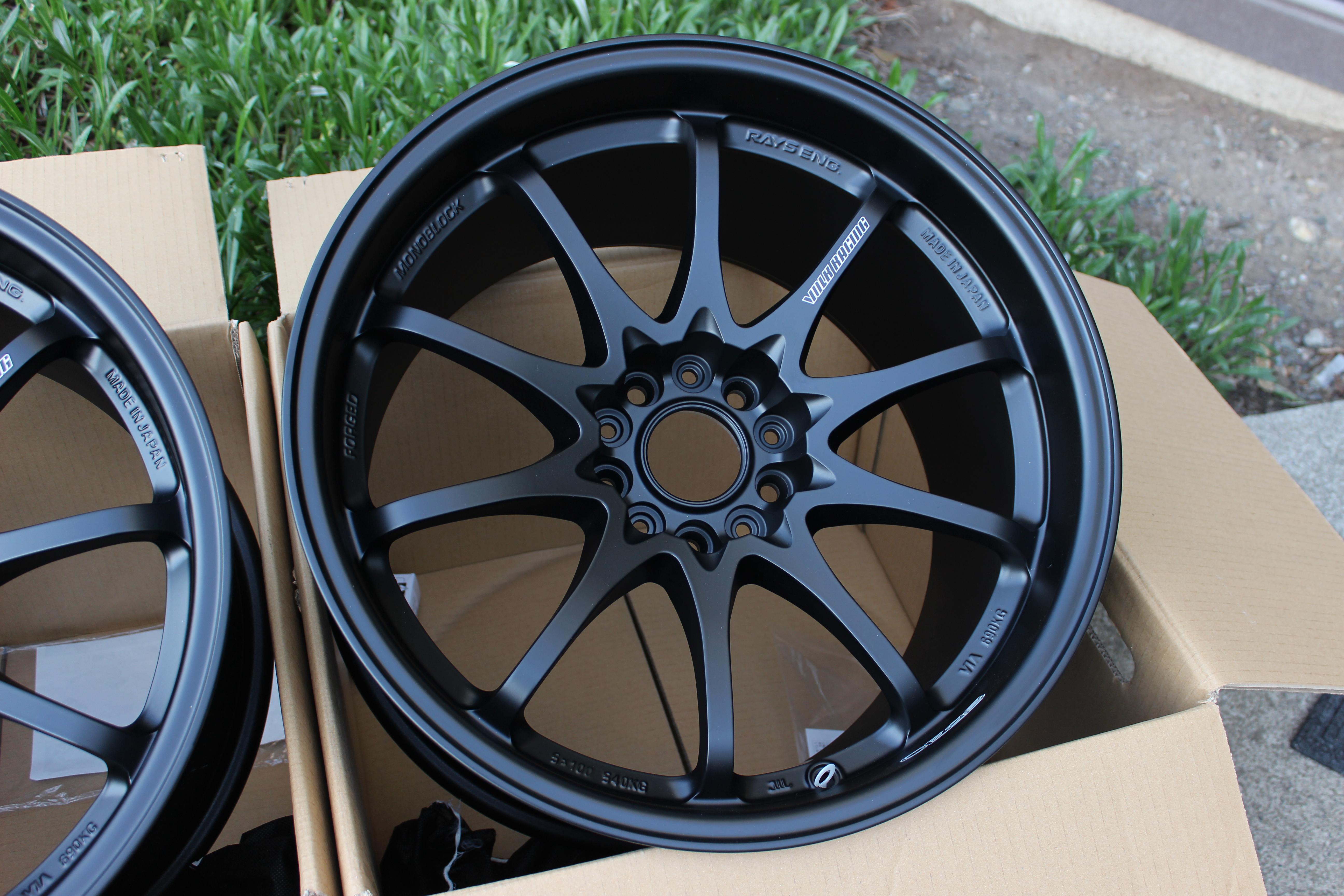 Honda Civic Colors >> Volk Racing - CE28N - 18x10.5 +18 5x114.3 - Matte Black
