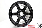 Volk Racing - TE37 SL - 15x8.0 +25 4x100 - Gloss Black