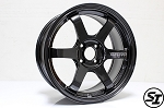 Volk Racing - TE37 Sonic - 16x7.0 +25 4x100 - Diamond Dark Gunmetal