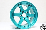 Volk Racing - TE37 SL - 15x8.0 +32 5x114.3 - Hyper Green
