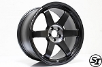Volk Racing - TE37 SL Black Edition II - 18x10.5 +14 5x114.3 - Pressed Black