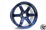 Volk Racing - TE37 SL - 18x9.5 +40 5x100 - Mag Blue