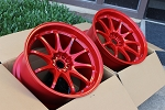Volk Racing - CE28N - 18x10.5 +18 5x114.3 - Red