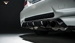 Vorsteiner Aero - Carbon Fiber Rear Diffuser Type II - BMW E92 M3 Coupe Only
