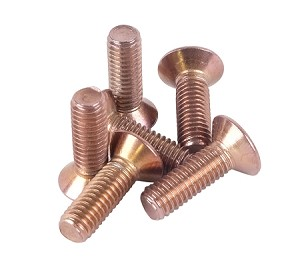NRG - Replacement Dress up Steering Wheel Screws - Pack of 6 - Rose Gold