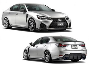 Tom's Racing - Aero Full Kit (Front, Sides, Rear) - Lexus GS-F 2016-2018